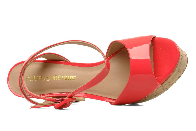 Sandalen Pour La Victoire Nasha rosa ansicht von links