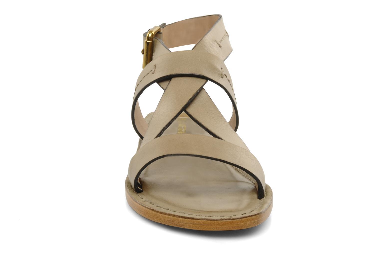 Sandals Pour La Victoire Mariza Grey model view