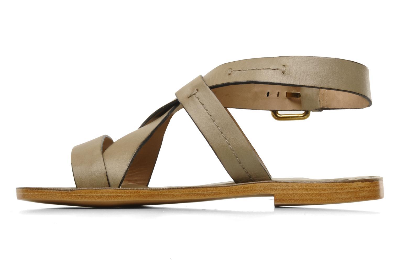 Sandals Pour La Victoire Mariza Grey front view