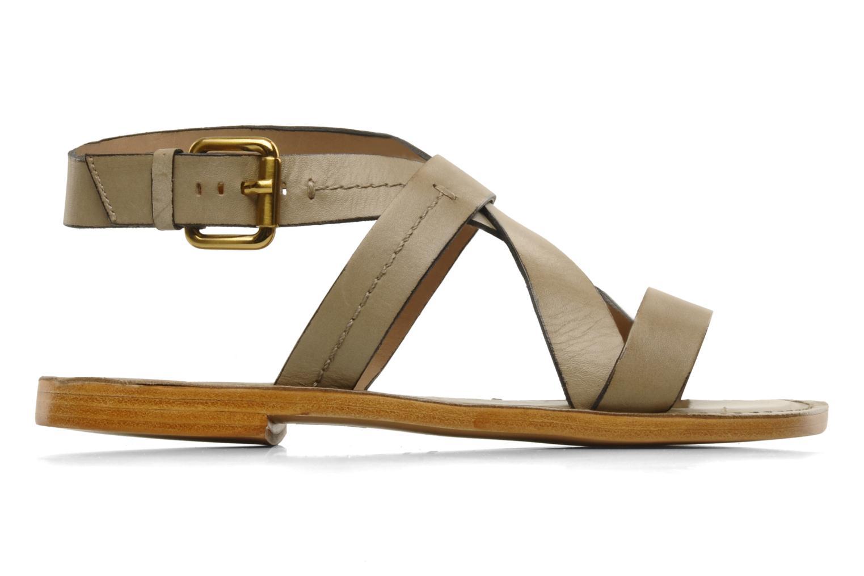 Sandals Pour La Victoire Mariza Grey back view