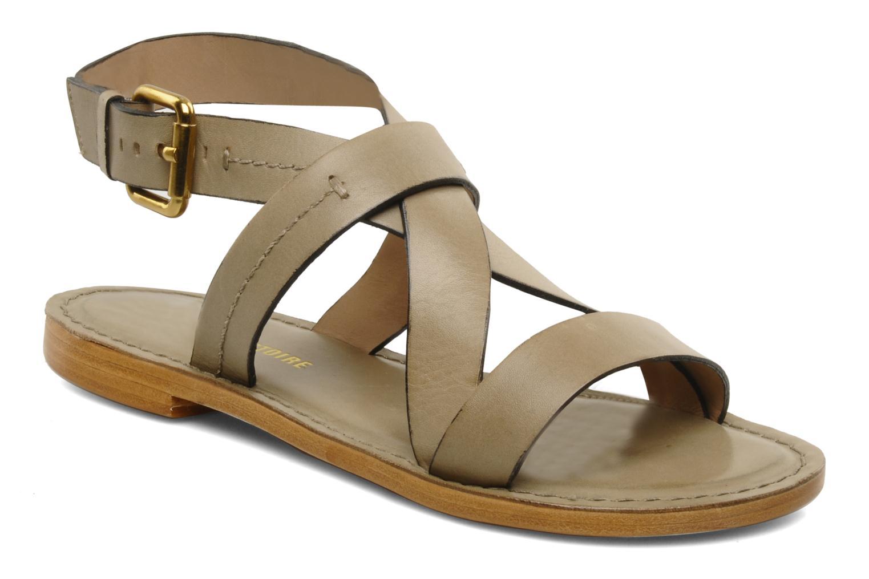 Sandals Pour La Victoire Mariza Grey detailed view/ Pair view