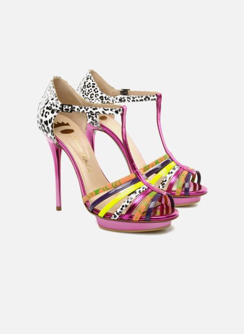 Et Chez 89583 Sandales Nu Edme pieds Ernesto Esposito multicolore wqI7x61a