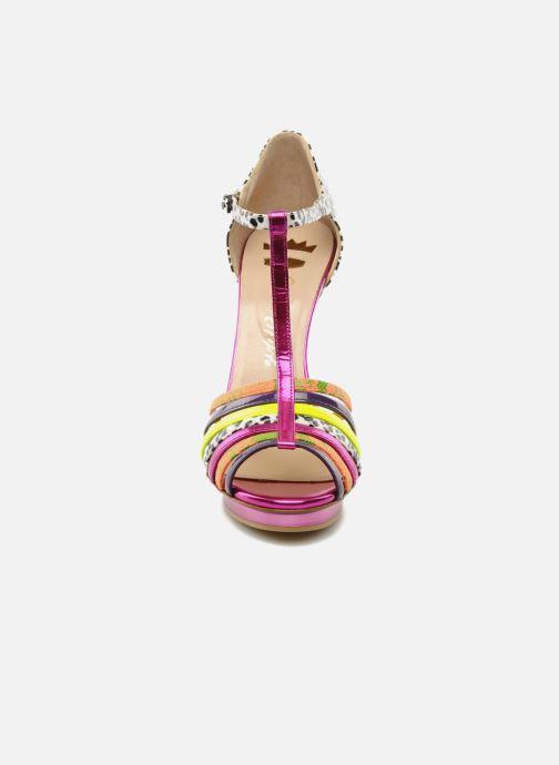 Sandals Ernesto Esposito Edme Multicolor model view