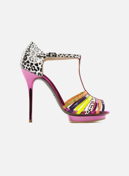 Sandals Ernesto Esposito Edme Multicolor back view