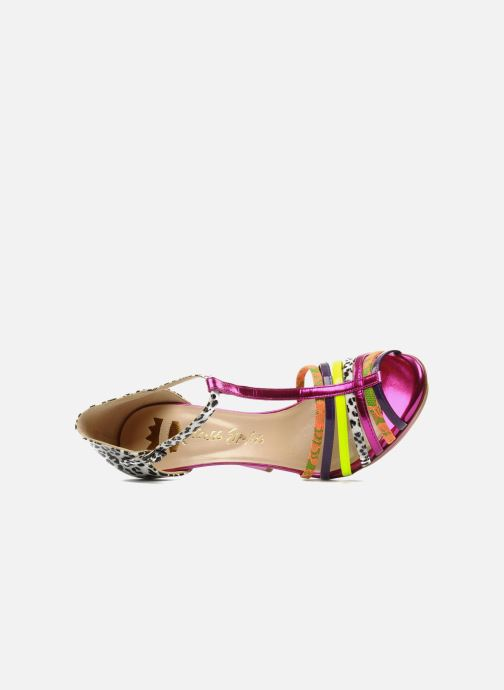 Sandals Ernesto Esposito Edme Multicolor view from the left
