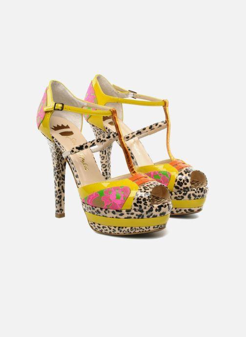 Sandals Ernesto Esposito Elbire Yellow 3/4 view