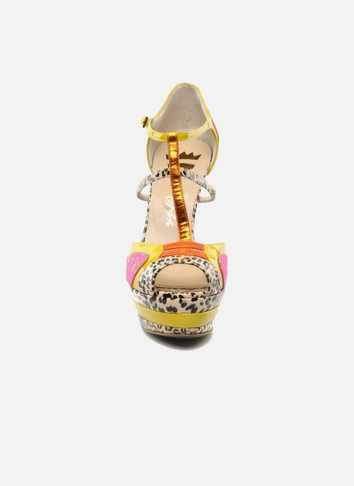 Sandals Ernesto Esposito Elbire Yellow model view
