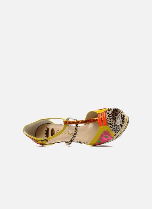 Sandales et nu-pieds Ernesto Esposito Elbire Jaune vue gauche