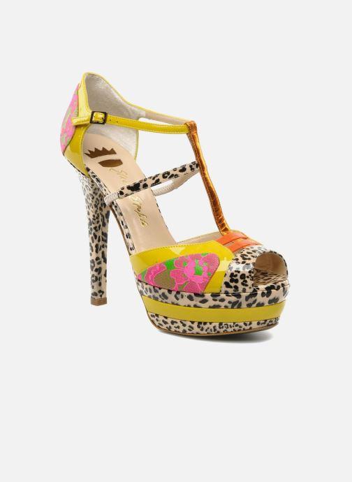 Sandales et nu-pieds Ernesto Esposito Elbire Jaune vue détail/paire