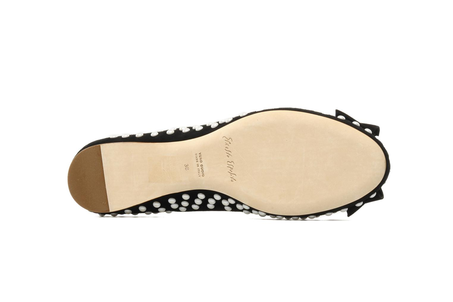 Ballet pumps Ernesto Esposito Evie Black view from above