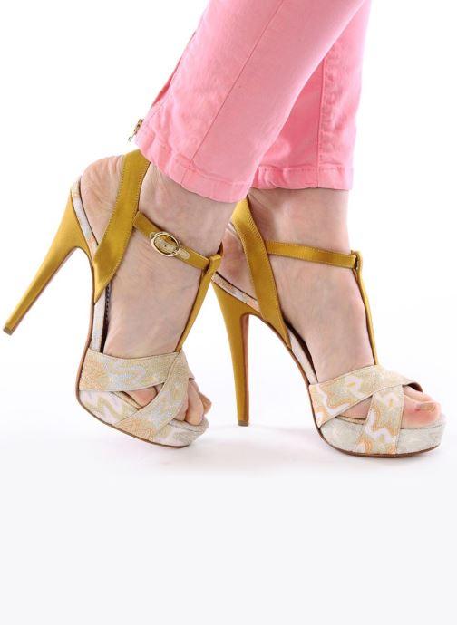 Sandales et nu-pieds Missoni Mabelle Multicolore vue bas / vue portée sac