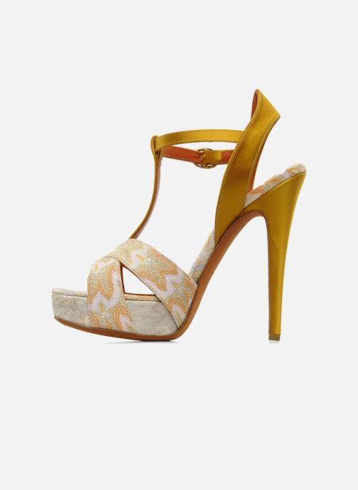 Sandales et nu-pieds Missoni Mabelle Multicolore vue face