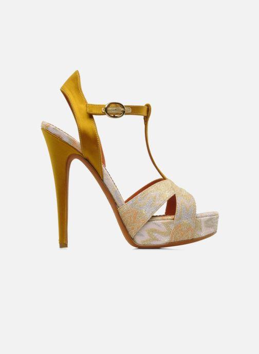 Sandales et nu-pieds Missoni Mabelle Multicolore vue derrière