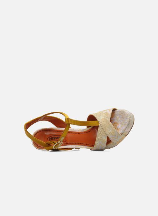 Sandales et nu-pieds Missoni Mabelle Multicolore vue gauche