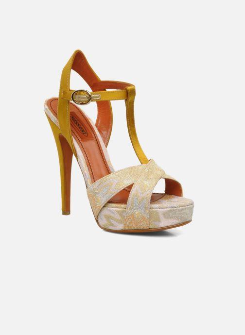 Sandales et nu-pieds Missoni Mabelle Multicolore vue détail/paire