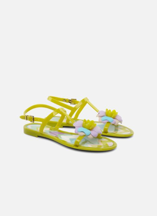 Sandals Missoni Melise Green 3/4 view