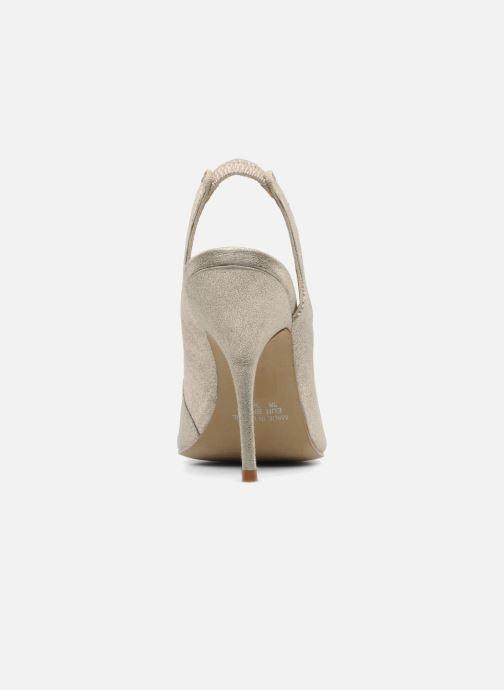 Zapatos de tacón Studio TMLS Malaysia Oro y bronce vista lateral derecha