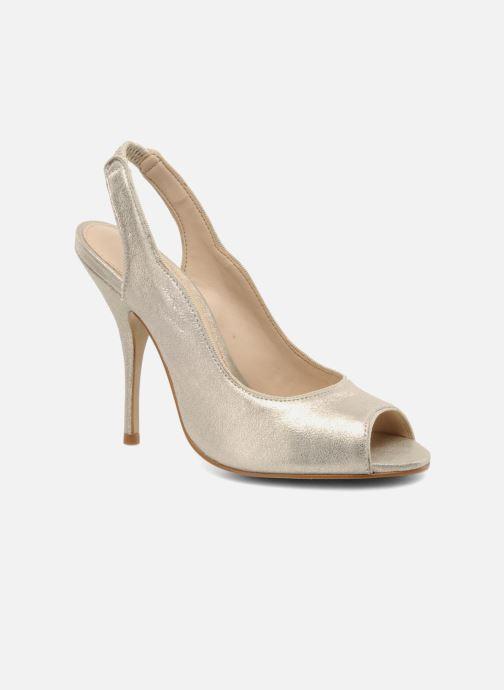 Zapatos de tacón Studio TMLS Malaysia Oro y bronce vista de detalle / par