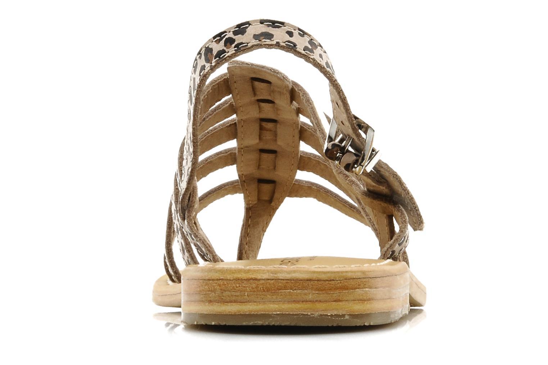 Sandales et nu-pieds Les Tropéziennes par M Belarbi Leopard Multicolore vue droite