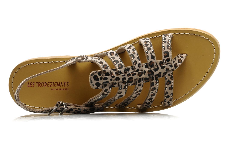 Sandales et nu-pieds Les Tropéziennes par M Belarbi Leopard Multicolore vue gauche