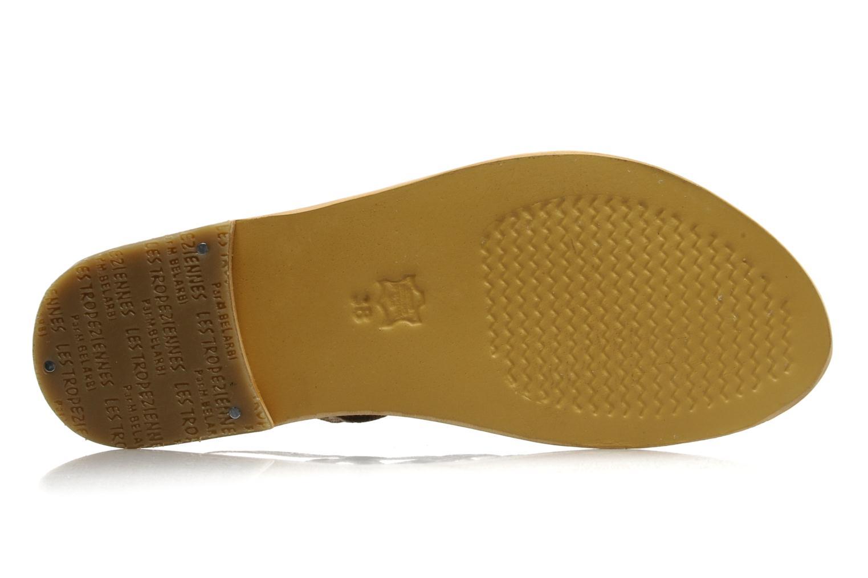 Sandales et nu-pieds Les Tropéziennes par M Belarbi Leopard Multicolore vue haut