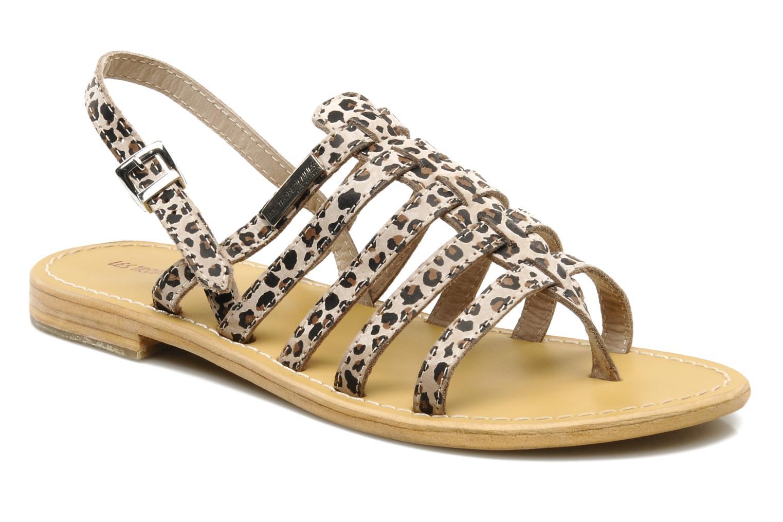 Sandales et nu-pieds Les Tropéziennes par M Belarbi Leopard Multicolore vue détail/paire