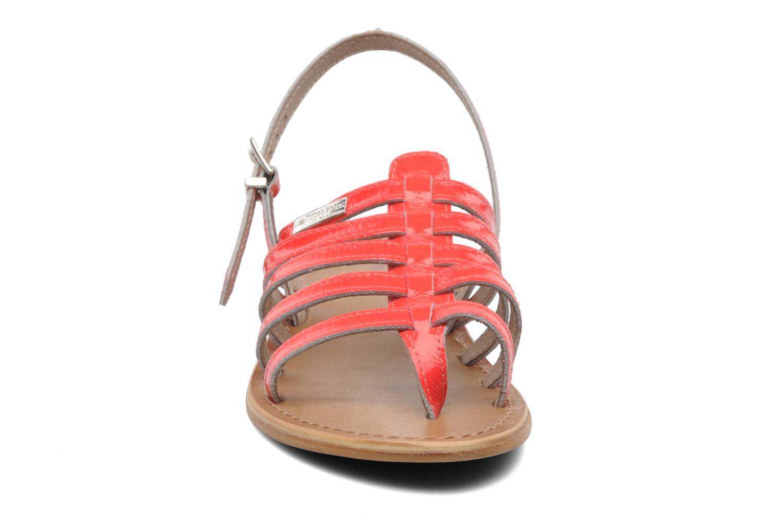 Sandales et nu-pieds Les Tropéziennes par M Belarbi Herflash Rose vue portées chaussures