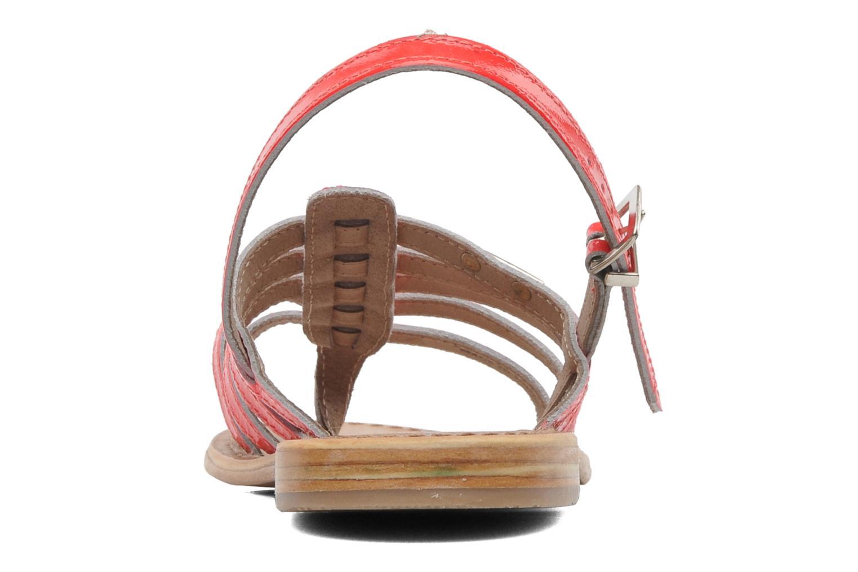 Sandales et nu-pieds Les Tropéziennes par M Belarbi Herflash Rose vue droite