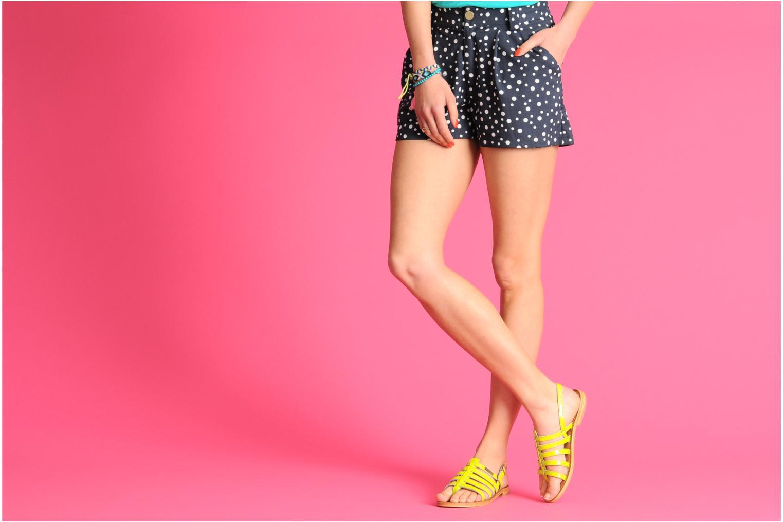 Sandales et nu-pieds Les Tropéziennes par M Belarbi Herflash Rose vue bas / vue portée sac