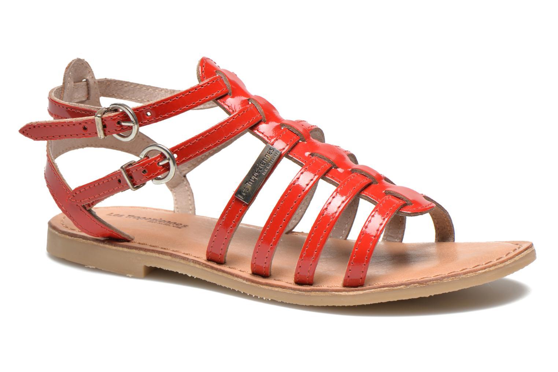 Sandaler Les Tropéziennes par M Belarbi Hic E Rød detaljeret billede af skoene