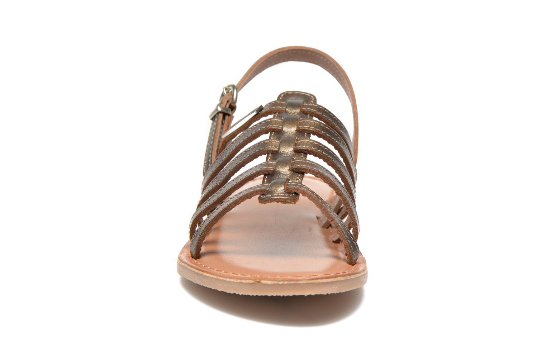 Sandals Les Tropéziennes par M Belarbi Mangue E Bronze and Gold model view