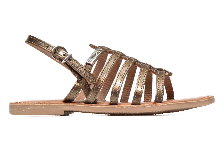 Sandals Les Tropéziennes par M Belarbi Mangue E Bronze and Gold back view