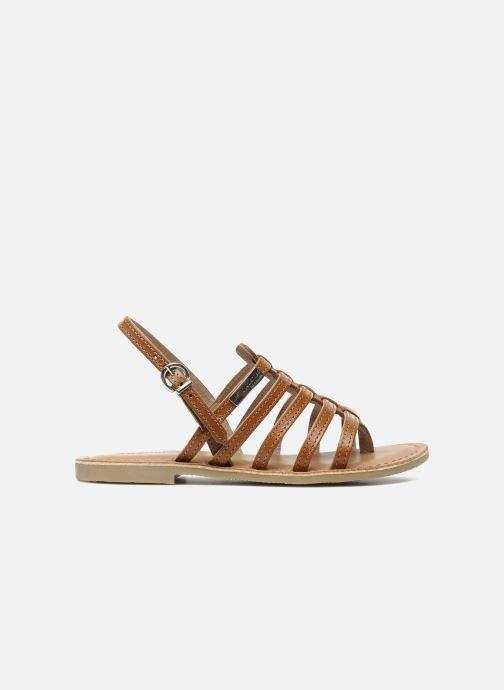 Sandales et nu-pieds Les Tropéziennes par M Belarbi Herisson E Marron vue derrière