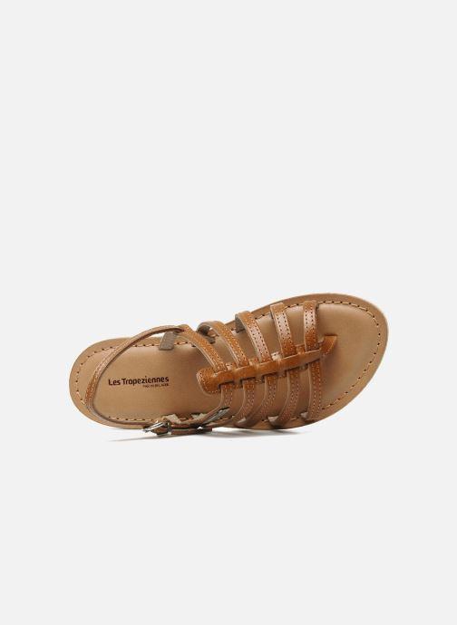 Sandales et nu-pieds Les Tropéziennes par M Belarbi Herisson E Marron vue gauche