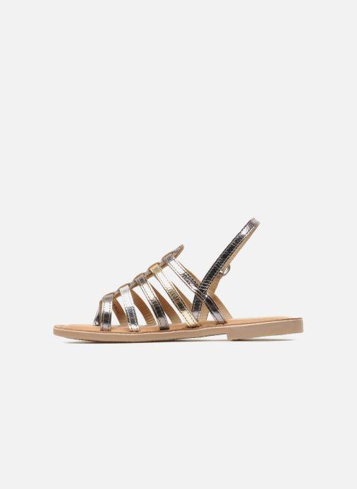 Sandales et nu-pieds Les Tropéziennes par M Belarbi Herisson E Argent vue face