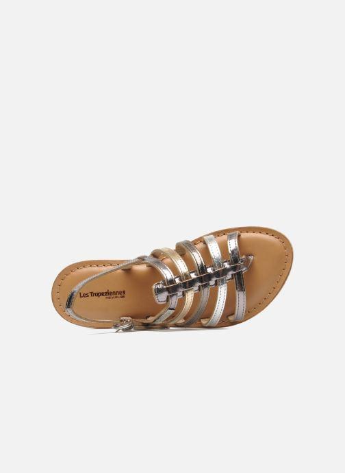 Sandales et nu-pieds Les Tropéziennes par M Belarbi Herisson E Argent vue gauche