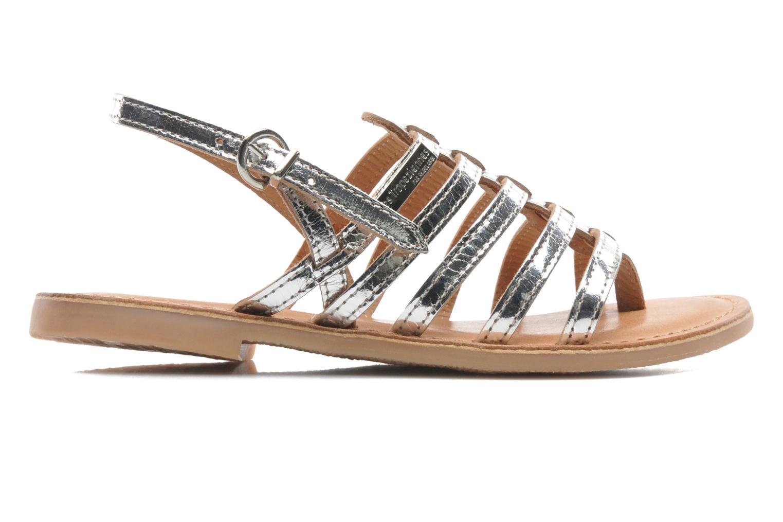 Sandales et nu-pieds Les Tropéziennes par M Belarbi Herisson E Argent vue derrière