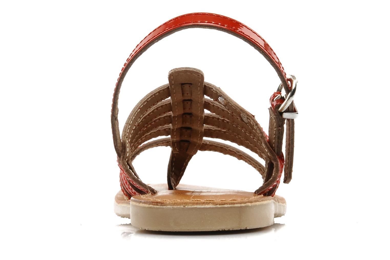 Sandaler Les Tropéziennes par M Belarbi Herisson E Röd Bild från höger sidan