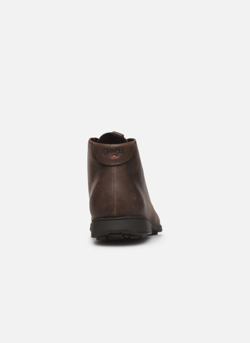 Lace-up shoes Camper 1913 36587 Brown view from the right