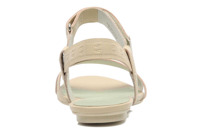 Sandales et nu-pieds Camper TWS 21631 Beige vue droite