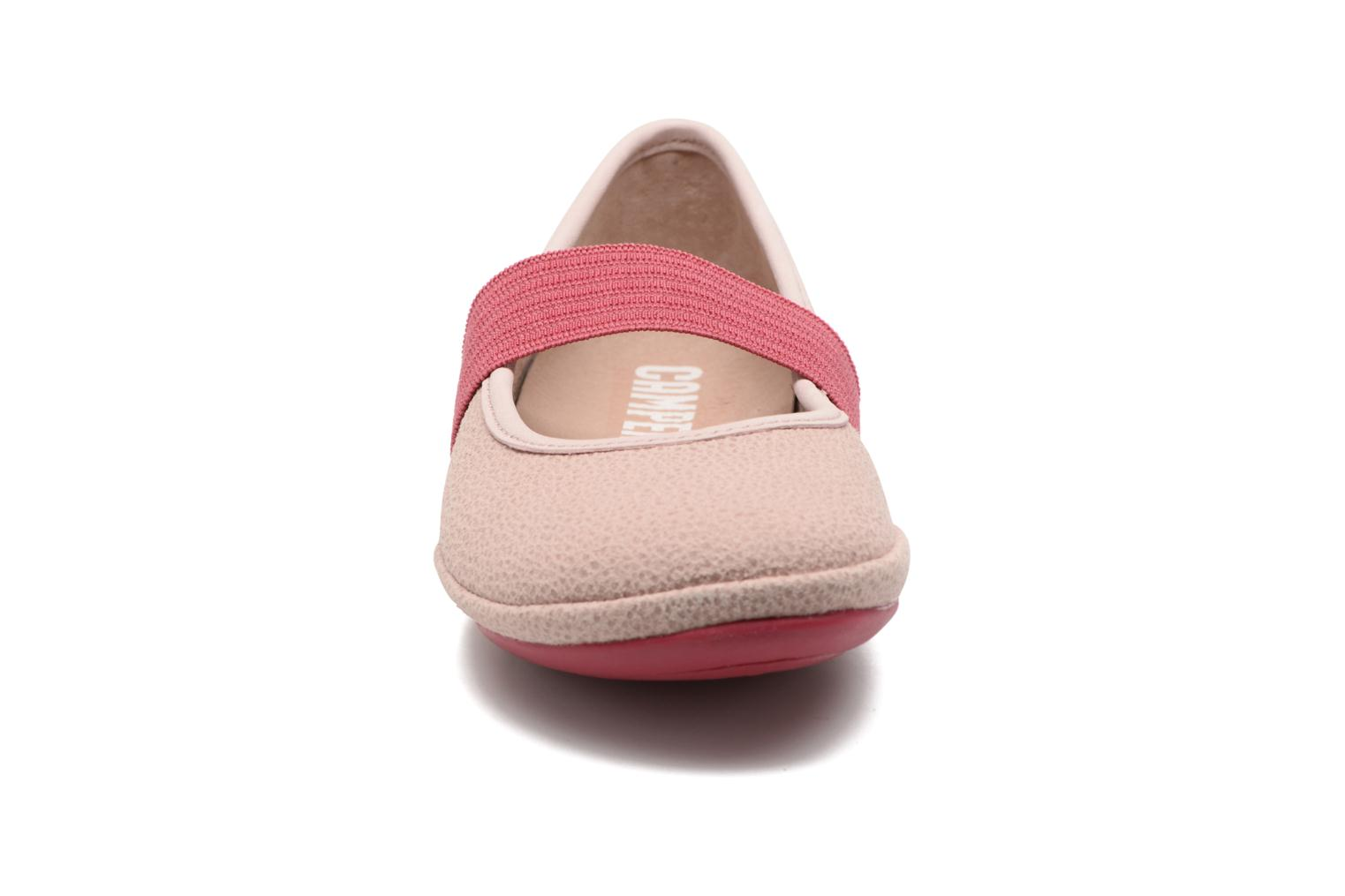 Ballerines Camper Right 80025 Rose vue portées chaussures
