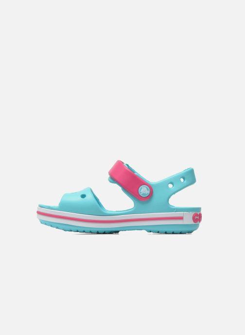 Sandalias Crocs Crocband Sandal Kids Azul vista de frente