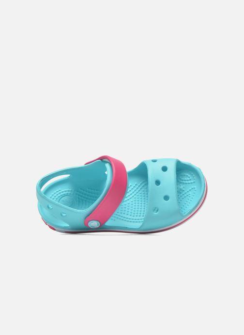 Sandalen Crocs Crocband Sandal Kids blau ansicht von links