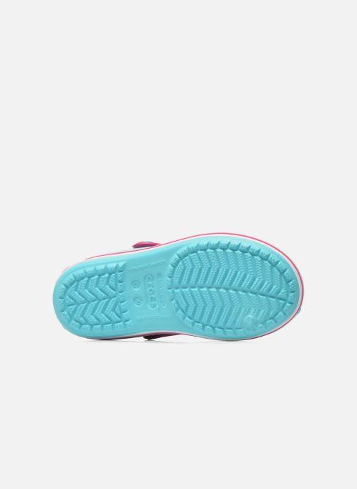 Sandalen Crocs Crocband Sandal Kids blau ansicht von oben