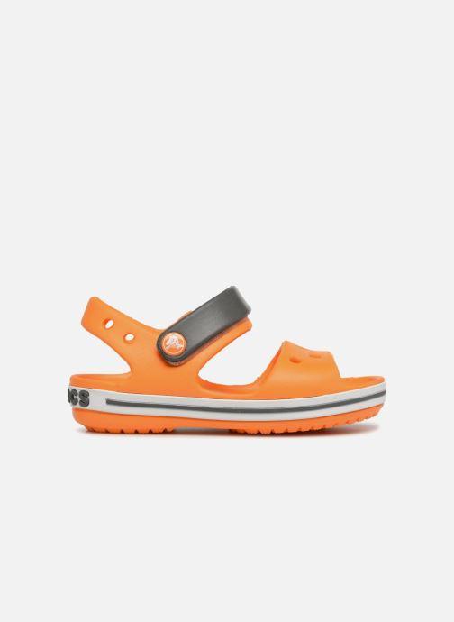 Sandalias Crocs Crocband Sandal Kids Naranja vistra trasera