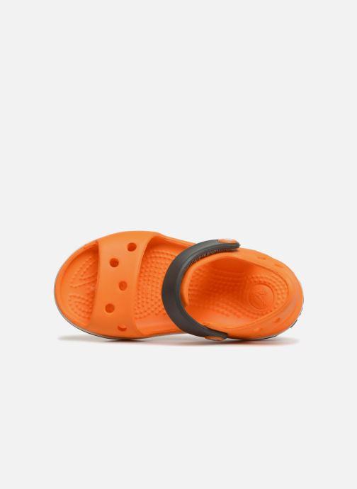 Sandalias Crocs Crocband Sandal Kids Naranja vista lateral izquierda