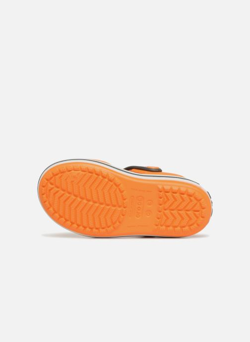 Sandalias Crocs Crocband Sandal Kids Naranja vista de arriba