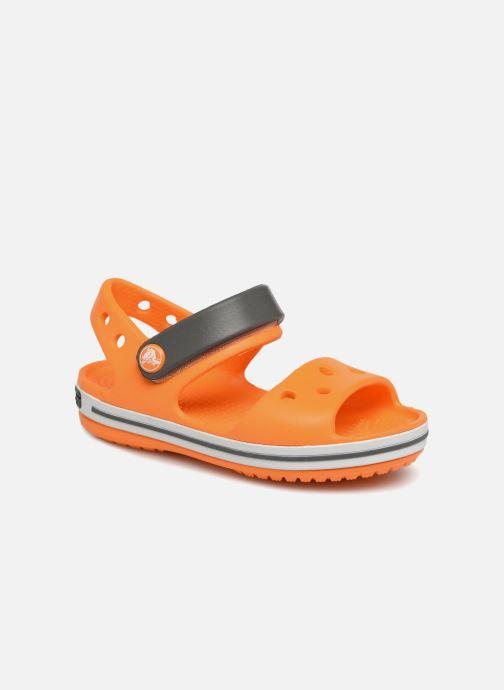 Sandalias Crocs Crocband Sandal Kids Naranja vista de detalle / par
