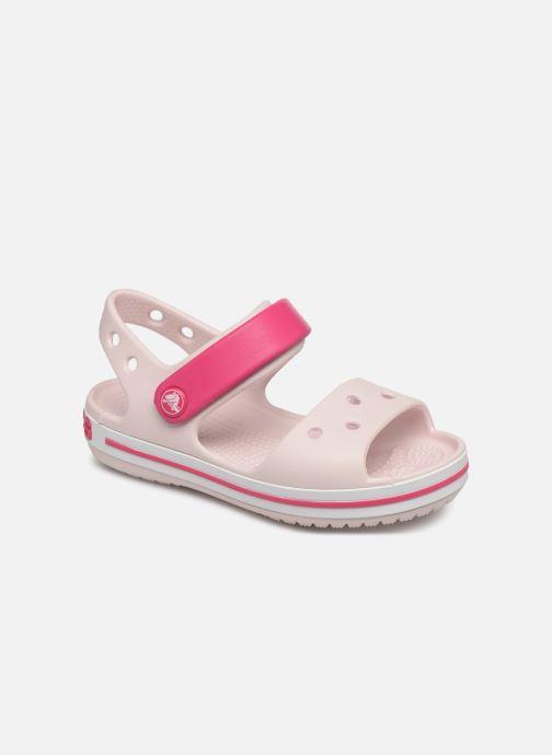 Sandalen Crocs Crocband Sandal Kids rosa detaillierte ansicht/modell