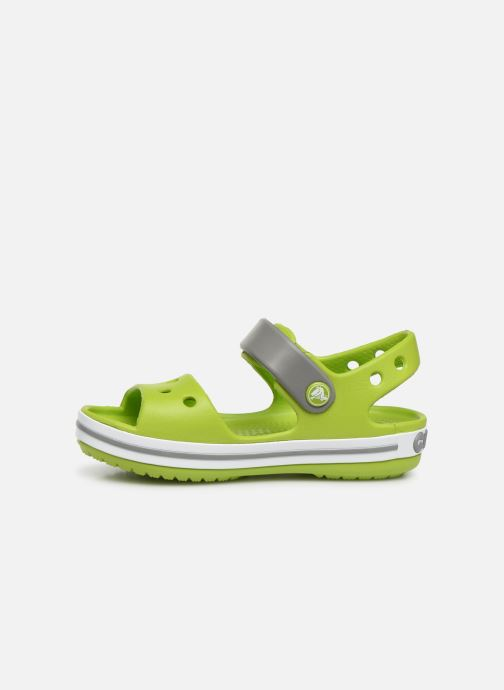 Sandalias Crocs Crocband Sandal Kids Verde vista de frente